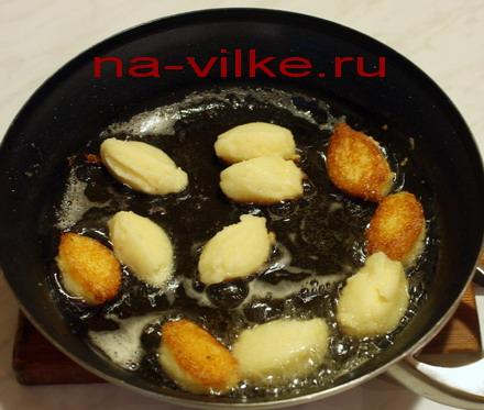 Жарим картофельное