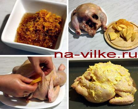Готовим курицу с апельсинами