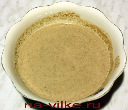 Гречневое тесто