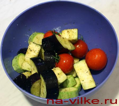 Овощи в специях