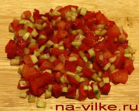 Овощной соус для рыбы
