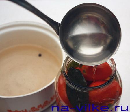 Маринад для консервированных помидор