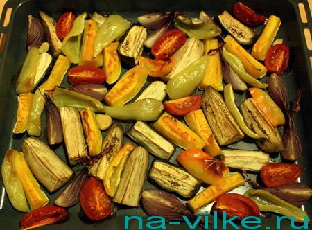 Печём овощи