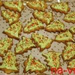Ёлочные печенья