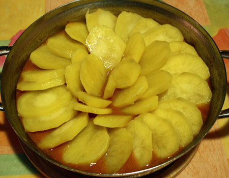 Картофельная крышка