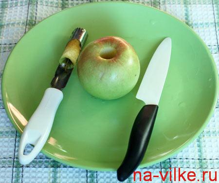Как разделать яблоко