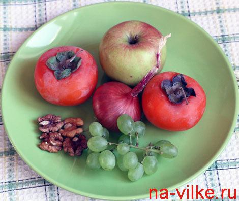 Ингредиенты для фруктового салата