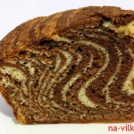 Торт Зебра - кусок
