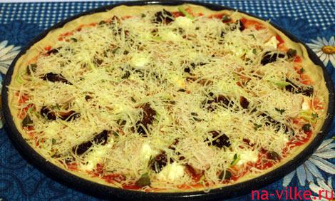 Сырая пицца