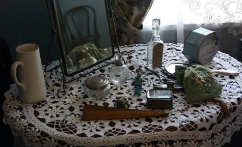Модные предметы коломенских барышень