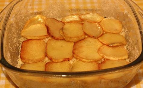 Картофель в форму