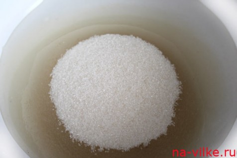 Сахарный сироп приготовить