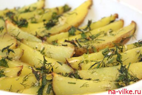 Картофель Айдахо готов