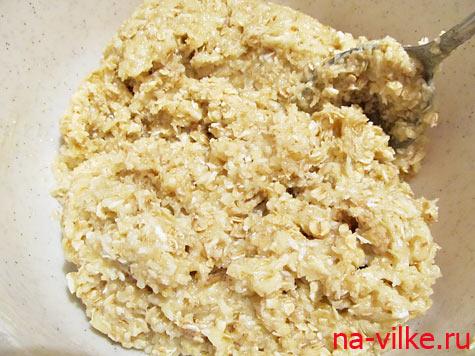 Тесто для печенья Анзак