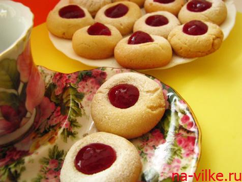 Печенье с джемом