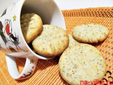 Лимонное печенье с маком