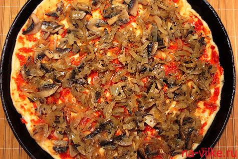 Сборка пиццы