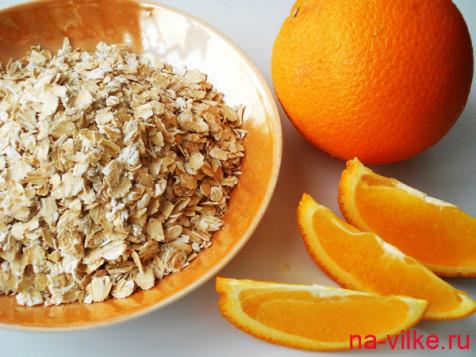Овсянка с апельсином