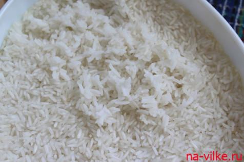 Рис готов