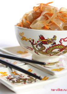 Салат из ашлямфу и моркови