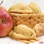 Песочное печенье с яблоком