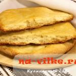 Хлебные лепешки на молочной сыворотке