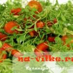 Кресс-салат в салате