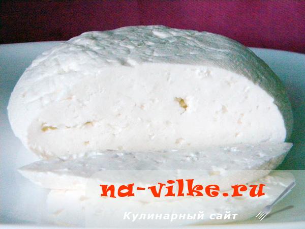 Домашний сыр моцарелла