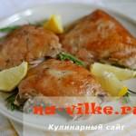 Курица в лимонном маринаде (Lemon Chicken)
