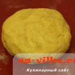 Песочное миндальное тесто
