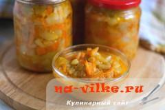 Лечо из запеченных болгарских перцев