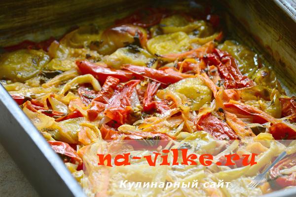 Овощное рагу с физалисом томатилло