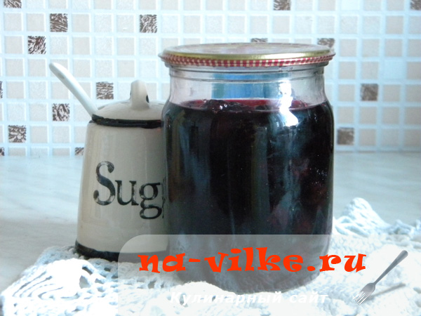 Ежевика с сахаром на зиму в собственном соку