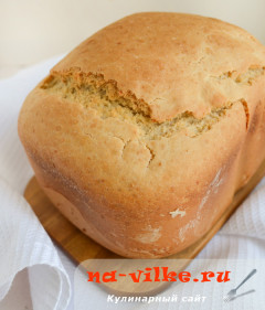 Домашний хлеб с отрубями в хлебопечке