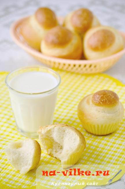 Выпечка из теста холодного брожения — булочки и пирог