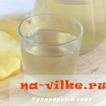 Напиток из кожуры ананаса