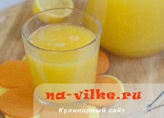 Сок из манго и апельсинов