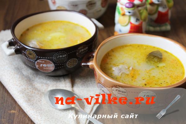 Суп с фрикадельками из фарша индейки
