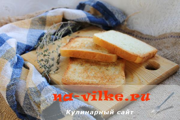 Хлеб в тостере