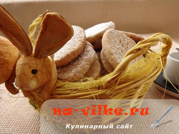 Печенье с корицей и ромом