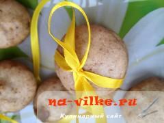 Медовые пряники с грецким орехом в пароварке Tefal