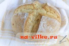 Белый содовый хлеб