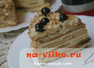 Домашний торт Ольга