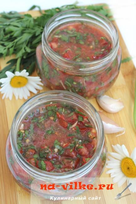 Чилийский томатный соус