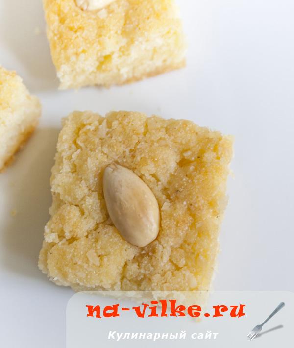 Басбуса - арабский пирог из манки
