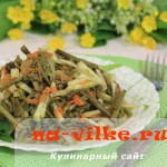 Салат из побегов папоротника