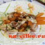 Курица с сыром и абрикосами