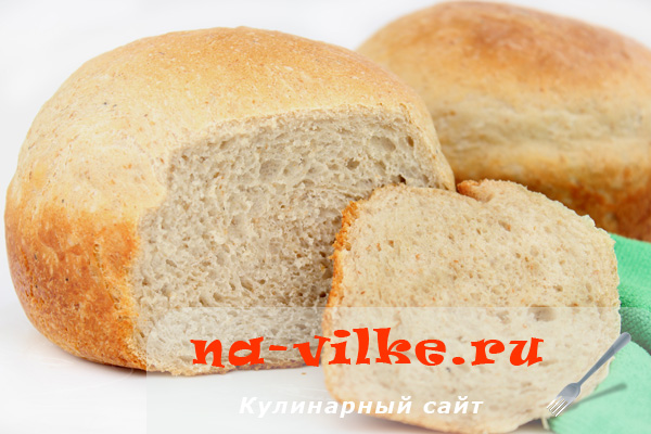 Хлеб заварной в духовке - фото