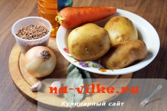 Продукты для гречневого супа