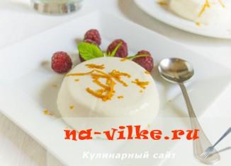 Апельсиновая панна-котта - рецепт популярного десерта